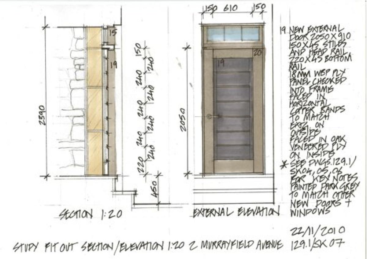 various drawings robert bruce archinect