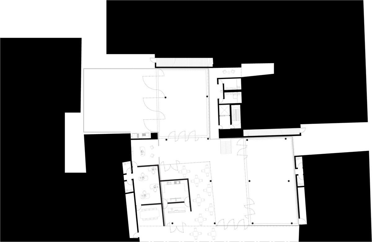 Sgambati_Palazzo Tasso Community Center_ground floor plan_drawing