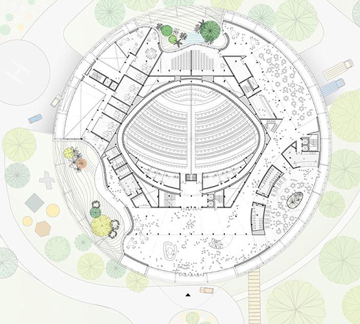 Plan (Image: WORKac)