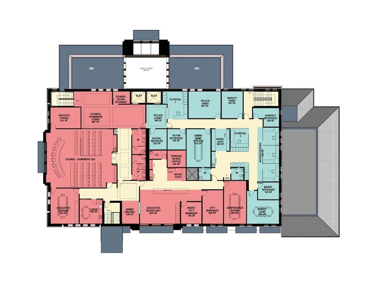 Schematic Second Floor
