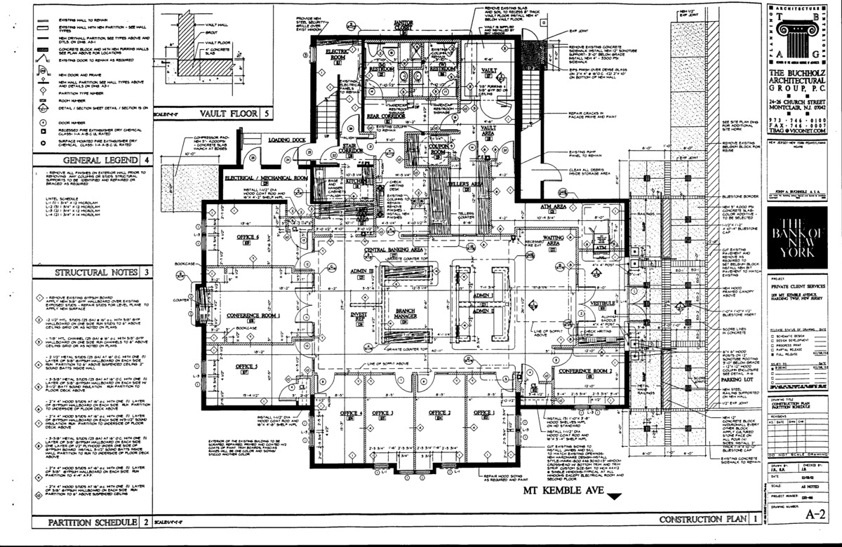 Construction plan.