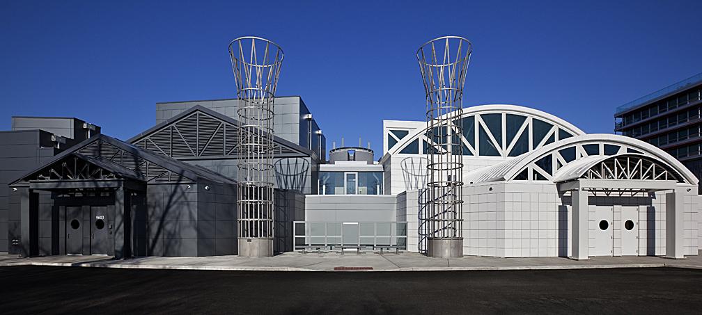East facade. Main entrance.