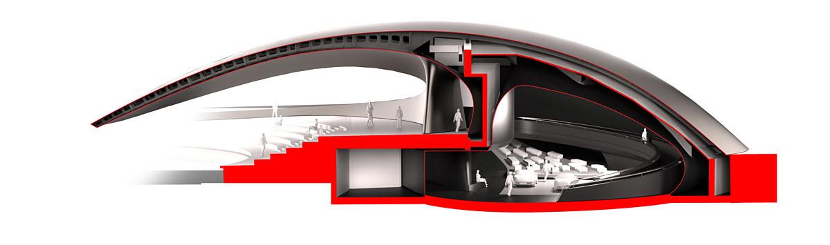 Cross section (Image: HENN)