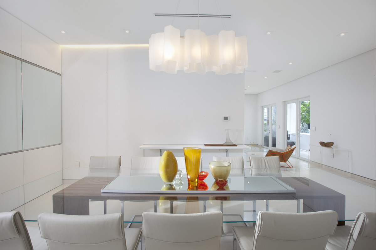 Dining room - Miami Interior Design