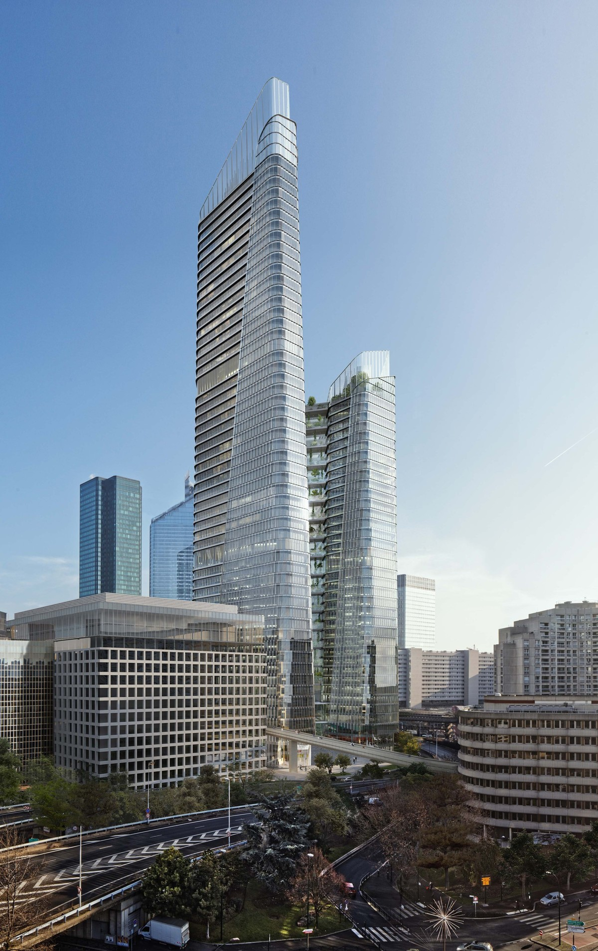 Eiffel Tower Floor Plan Meet The Link A New Office Tower For Paris Business