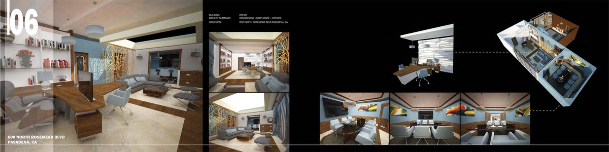 650 S. Rosemead | CEO Office Remodel