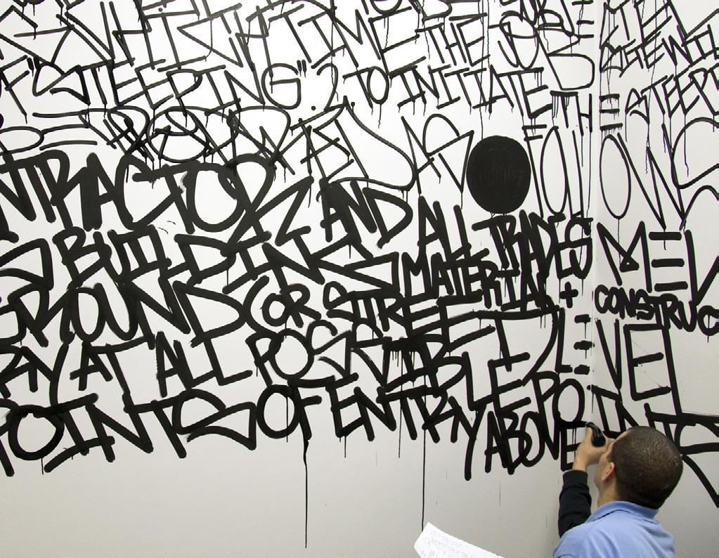 Graffiti for SoHo film, courtesy of John Szot studio.