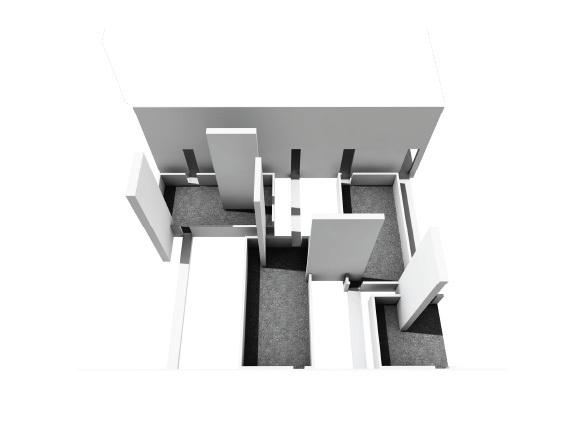 tower housing entrance balcony-yard
