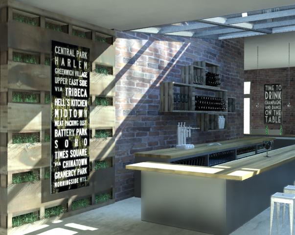 Gastropub cristina ramirez archinect for Interior design staffing agency chicago