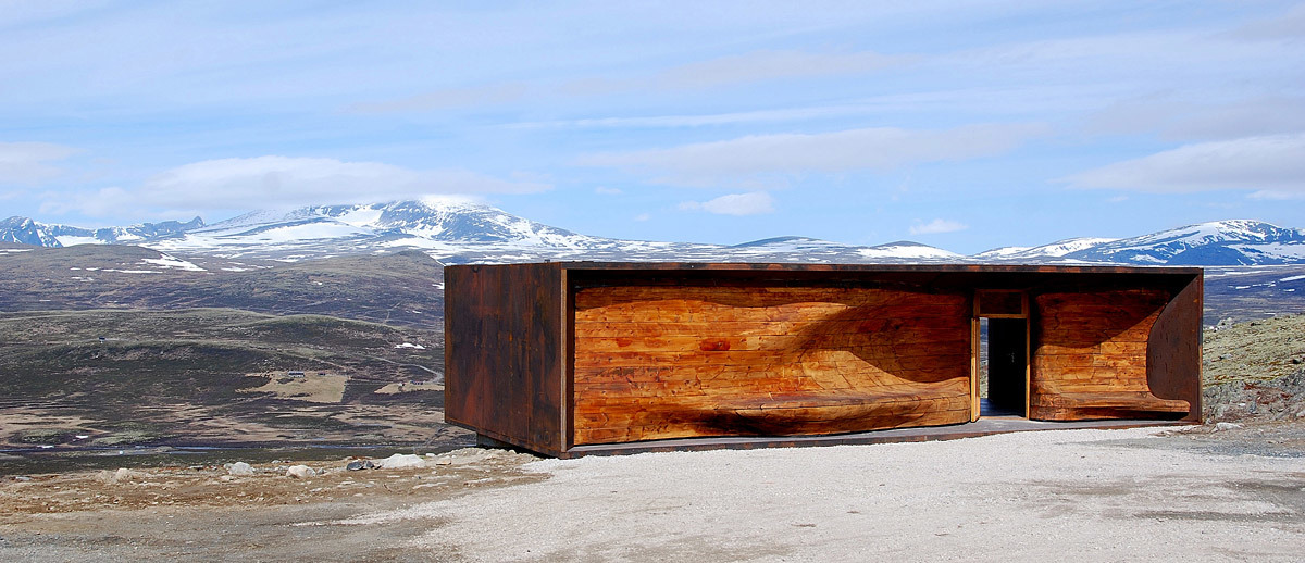 World Display Building of the Year: Norwegian Wild Reindeer Centre Pavilion, Hjerkinn, Norway, Snøhetta, Norway