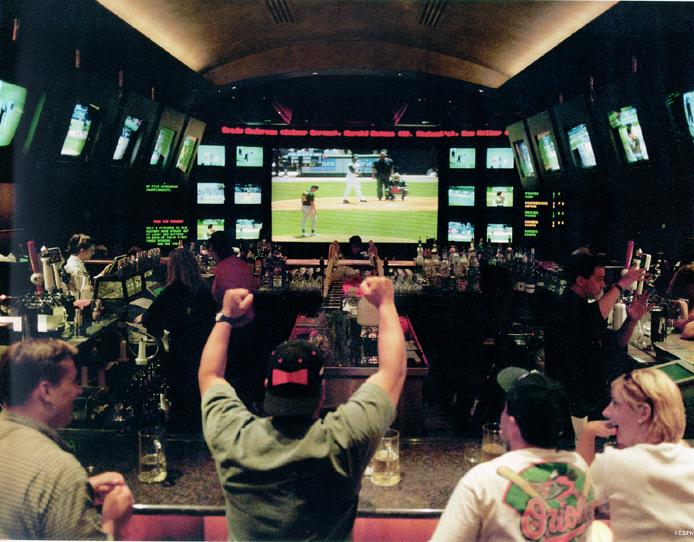 Disney ESPN Zone - Entertainment Bar.