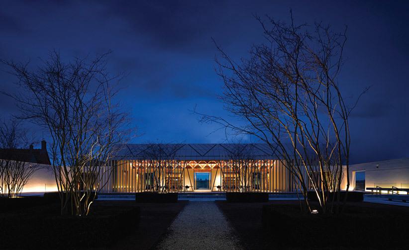 Stephen Marshall Architects, with Rothschild Foundation Archive, Waddesdon, UK