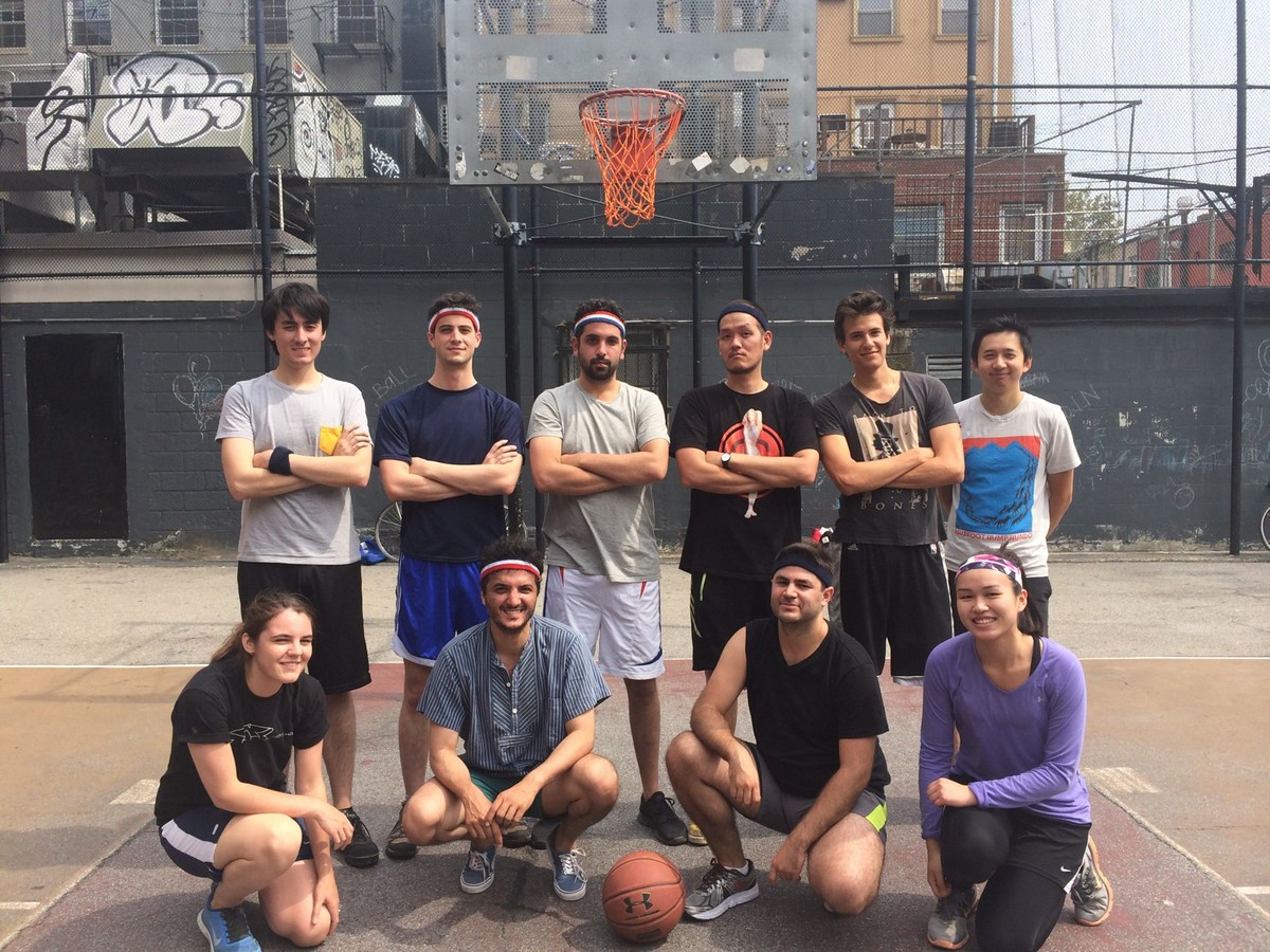 Basketball team. Photo courtesy of OMA New York.