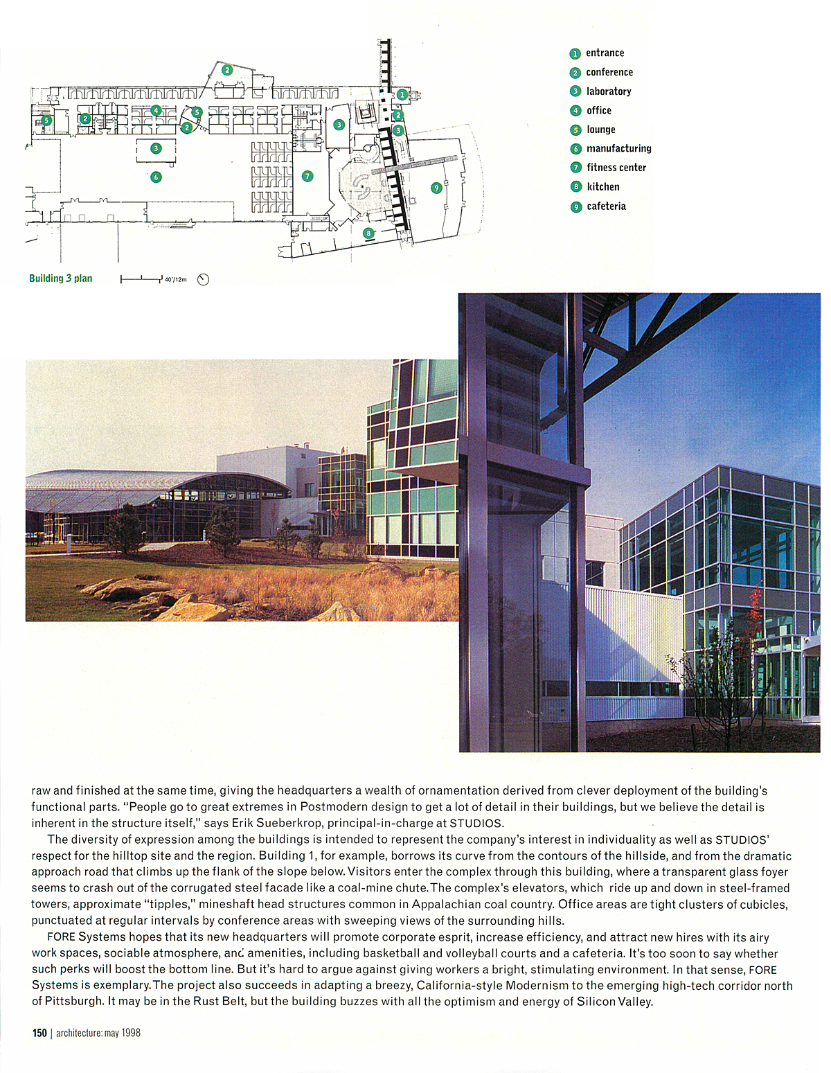 Page 7 - architecture: may 1998