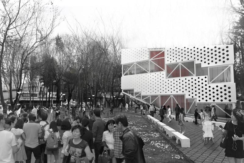 Daegu Public Kaleidoscope by PRAUD