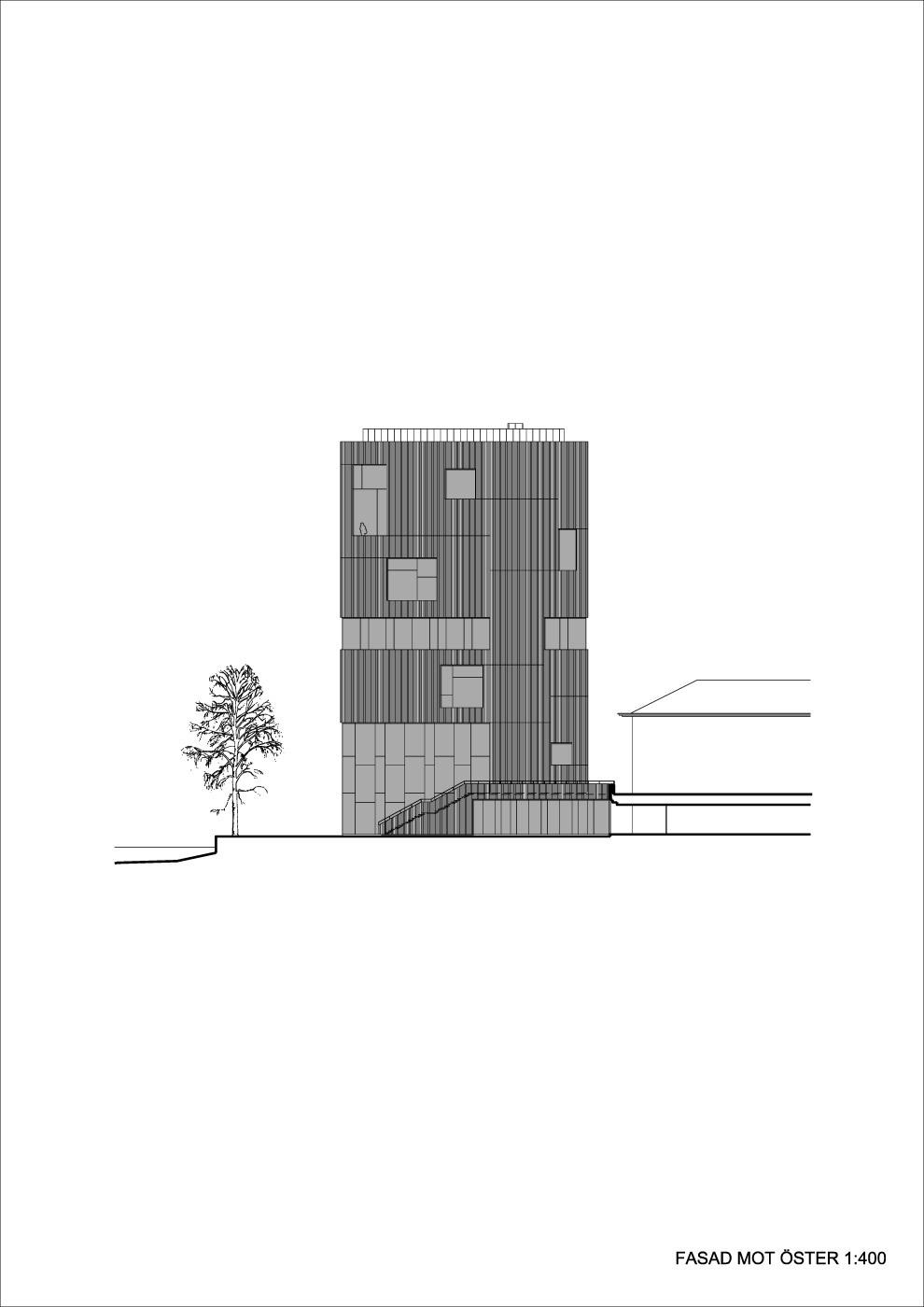 Elevation east (Illustration: Henning Larsen Architects)