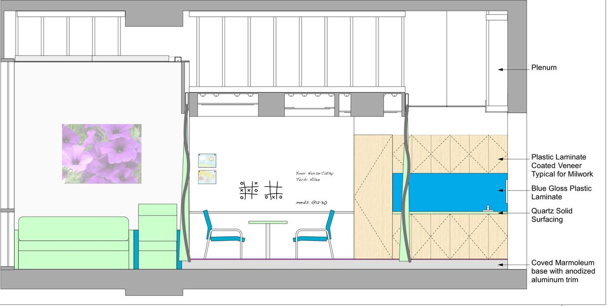 Patient Room Elevation