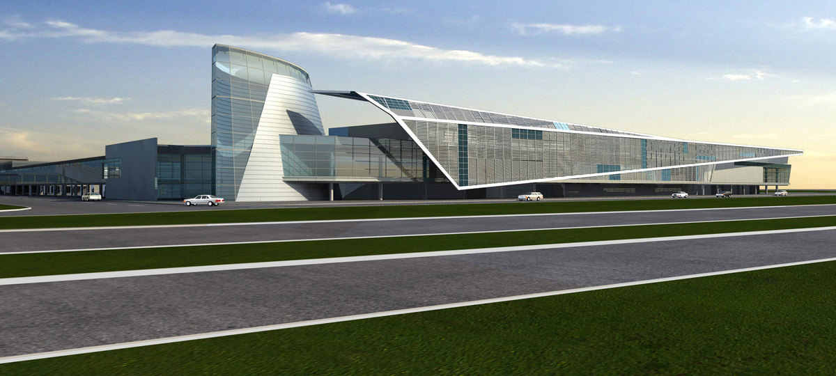 New Concourse / Air Side Terminal Ft Lauderdale Florida
