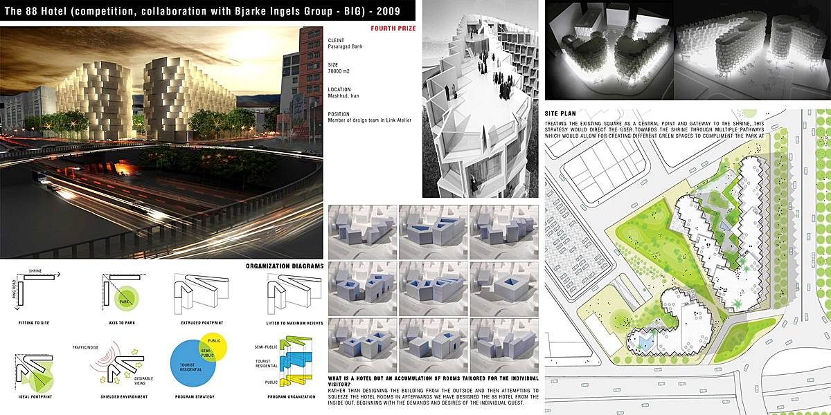 Commercial-Residential Complex | nima farzaneh | Archinect