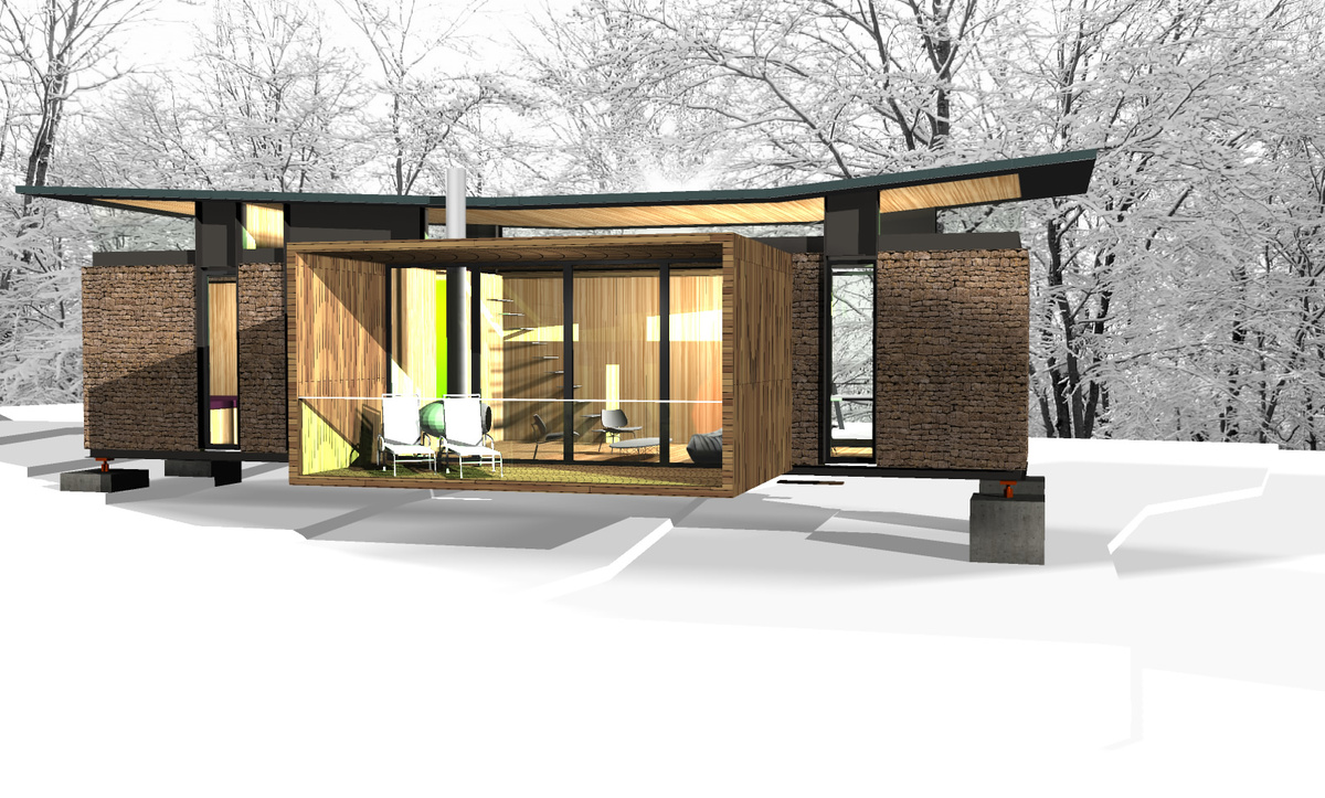 Shipping container hunting cabins joy studio design gallery best
