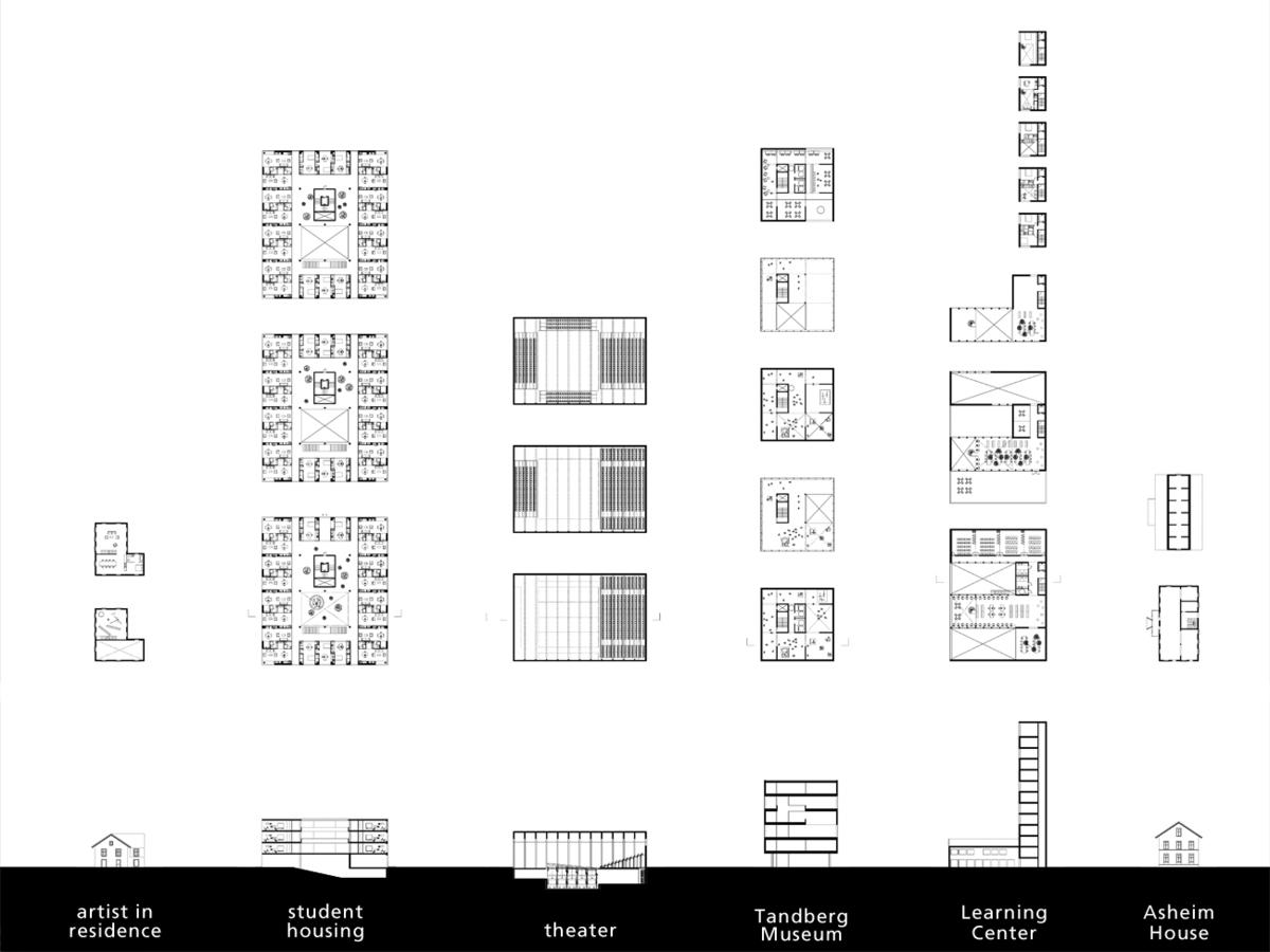 Hortus conclusus - Building plans. Image: alvarez ouburg architects