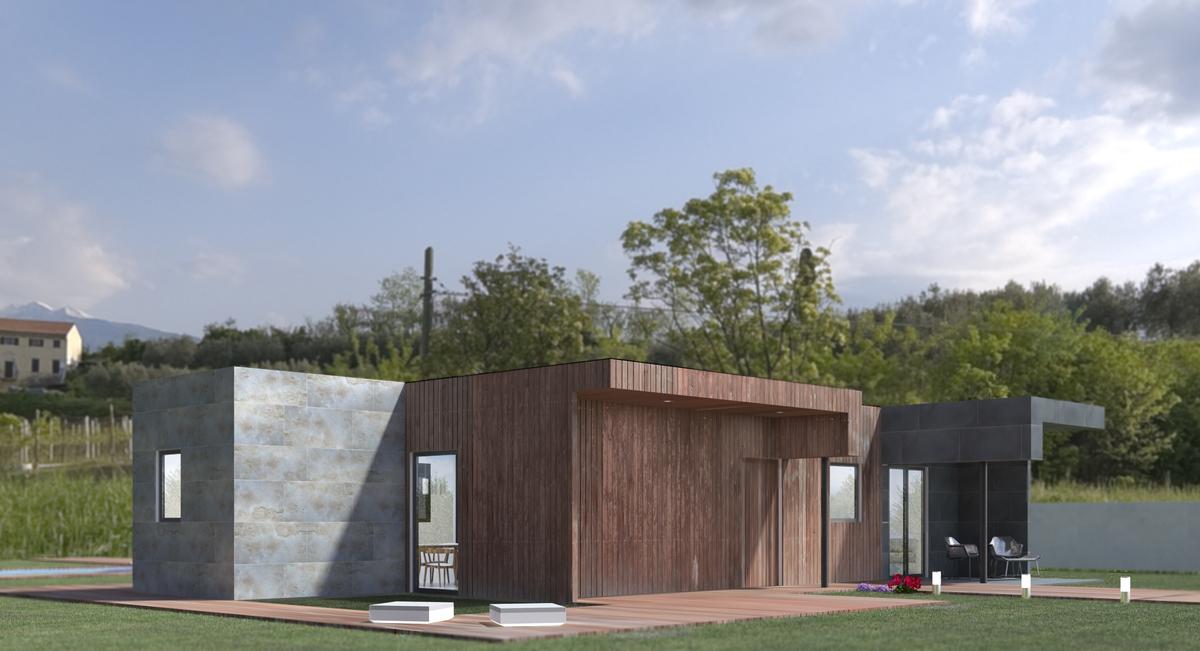 Casas modulares en espa a modelo 3b miguel martinez archinect - Casas modulares en espana ...