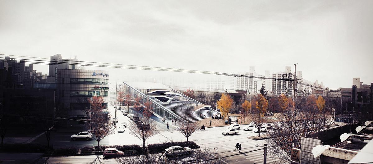 Exterior rendering (Image: Sunggi Park)