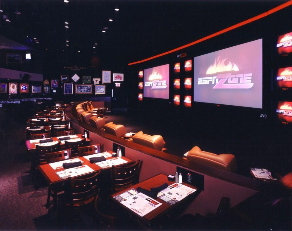 Disney ESPN Zone - Sport theater center.