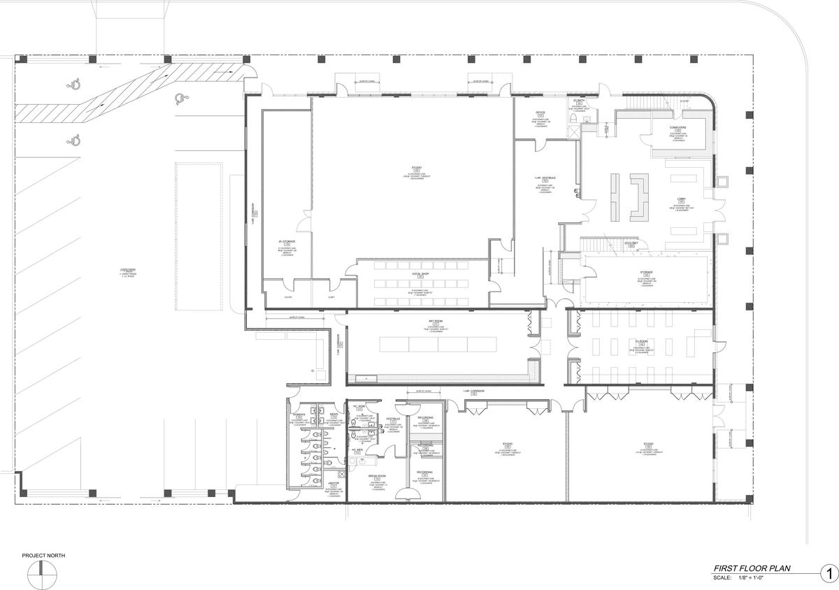 Clean First Floor Plan