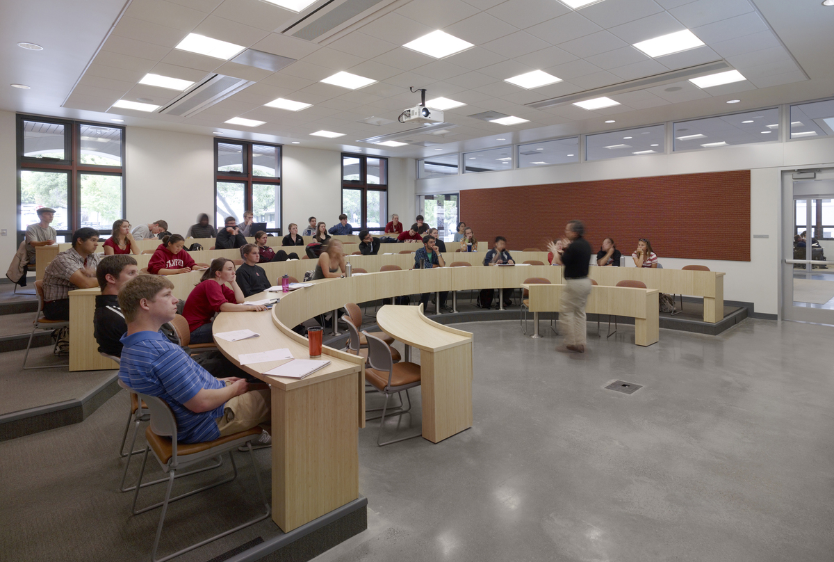 Tiered Classroom Design Standards ~ Stanford university y e jamie sinz archinect