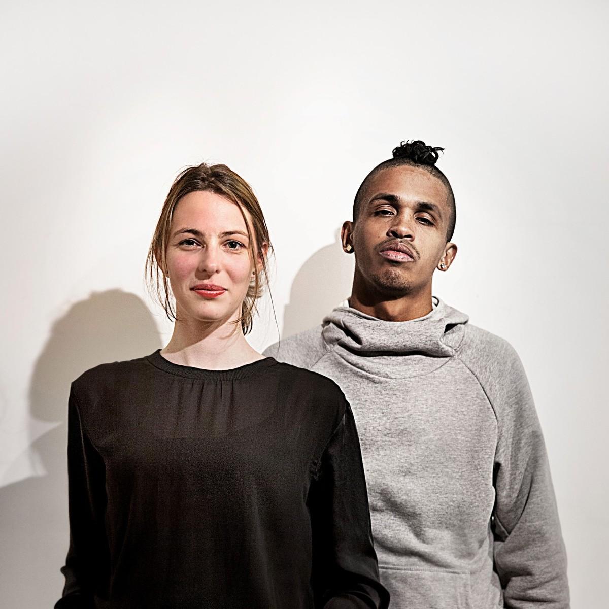 Nathalie Frankowski and Cruz Garcia. Founders of WAI Think Tank. Photo by Christin Melz.