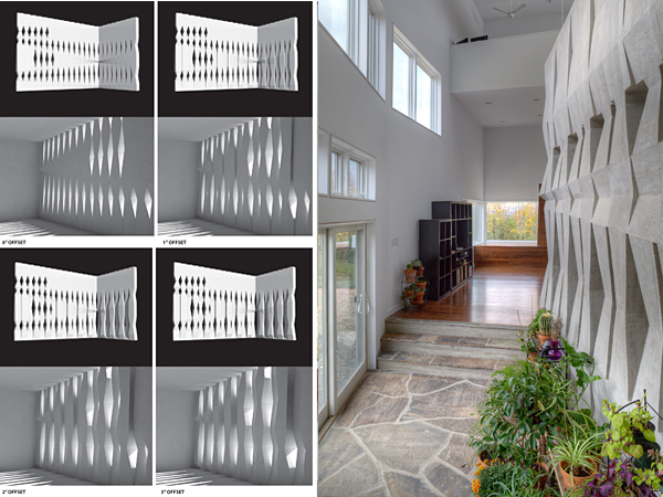 HSU House Mass Wall via Epiphyte-Lab LLC