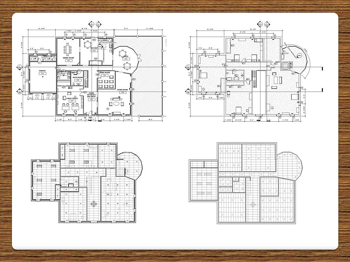 Revit house plans home design and style for Architecture house blueprints