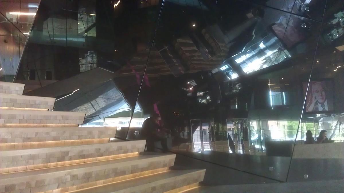 Interior of the Vakko Rex building