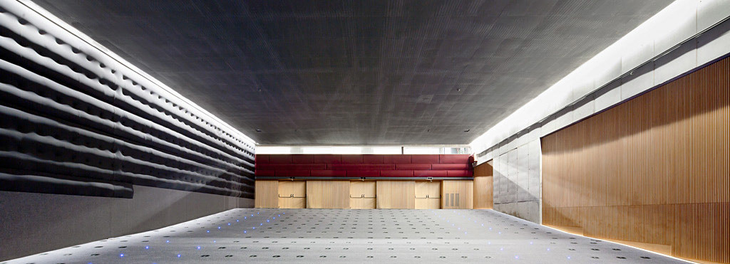 One of the two cinemas. Floor -2 (Photo: Adrià Goula)