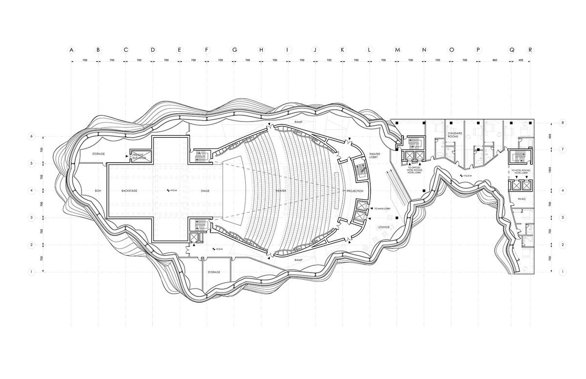 Theater plan