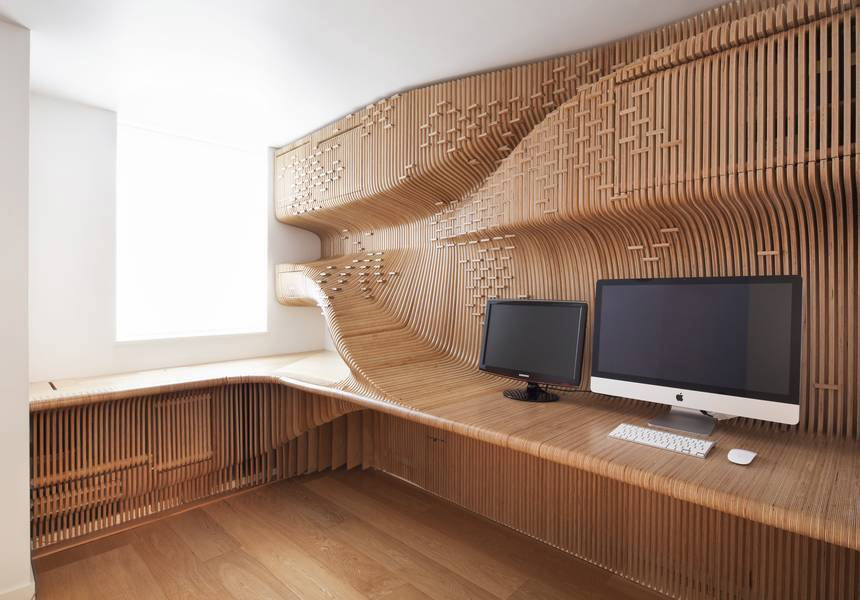 Chelsea Workspace in London, UK by SYNTHESIS (Photo: Peter Guenzel)