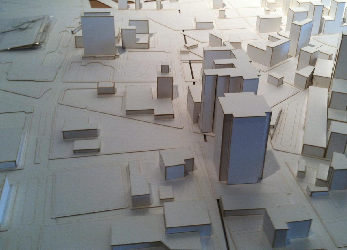 In progress - model for Revitalization Plan