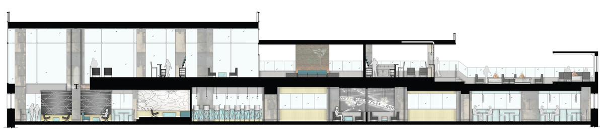 Longitudinal Building Section
