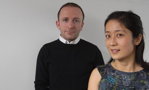 Kieran Gaffney and Makiko Konishi. Image via konishigaffney.com
