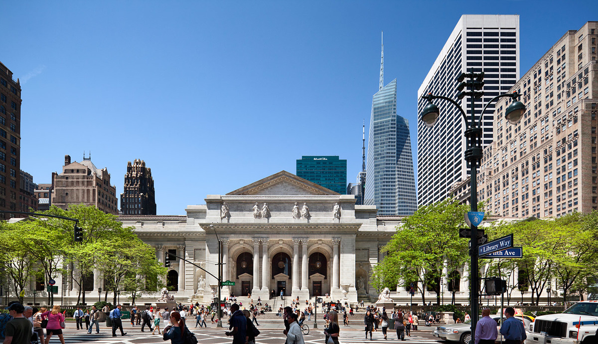 The New York Public Library - Exterior Restoration; New York, NY (Photo: Peter Aaron/Esto)