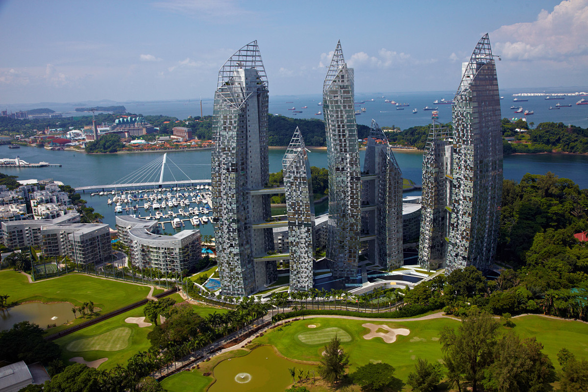 8th Place: Reflections at Keppel Bay, Singapore, 120 - 178 m, 24 - 41 floors (Copyright: Courtesy of TTJ Holdings Ltd)