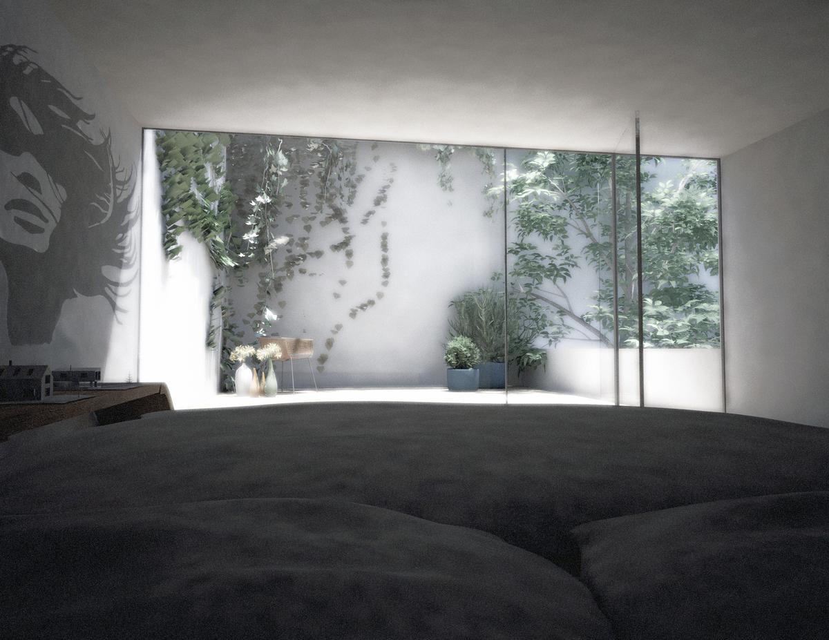 Bedroom + 2nd floor Patio