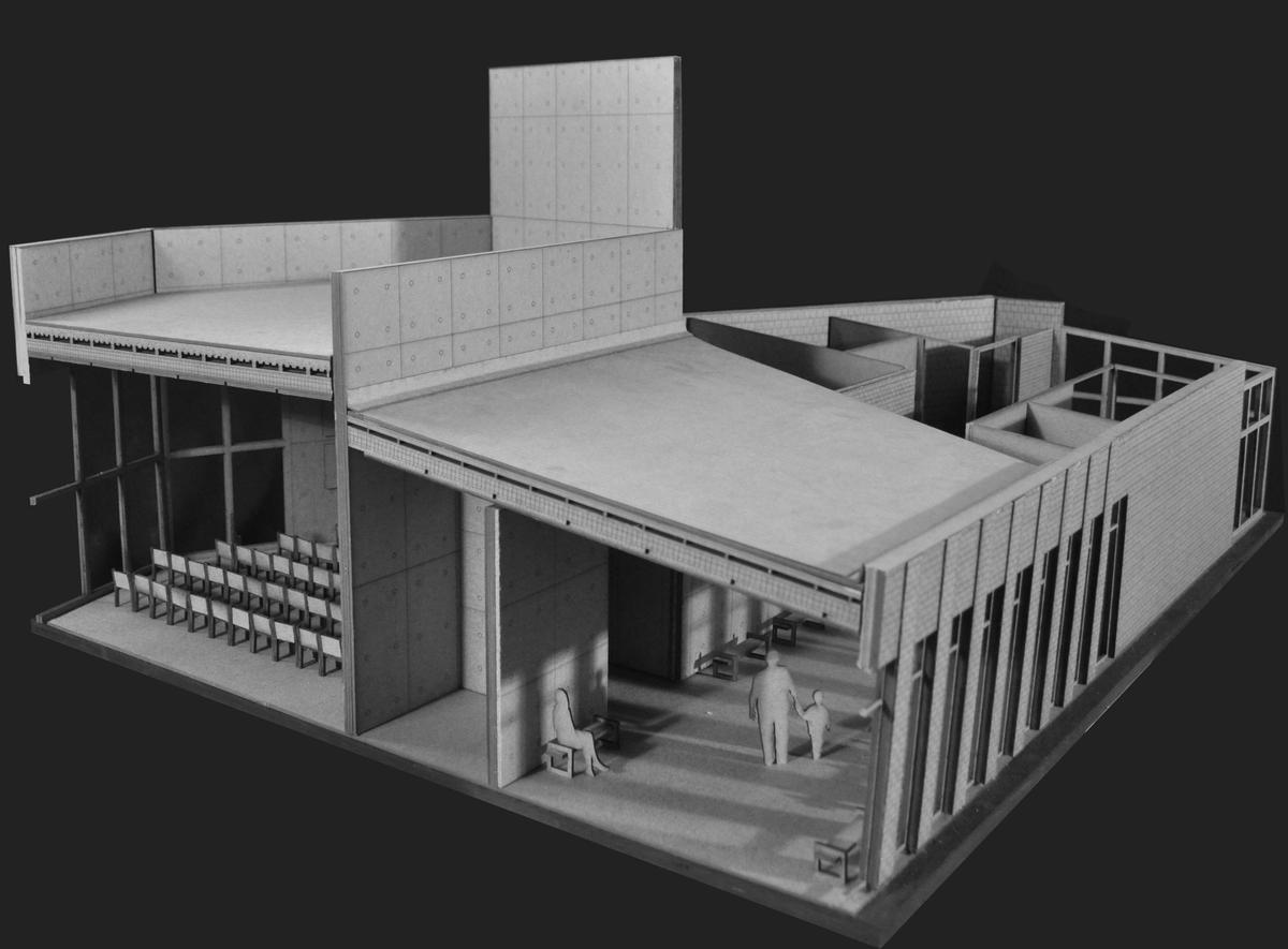 1/2 Section Model