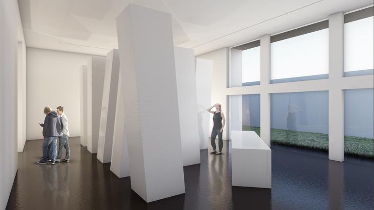Richard Meier Installation - Richard Meier & Partners Architects