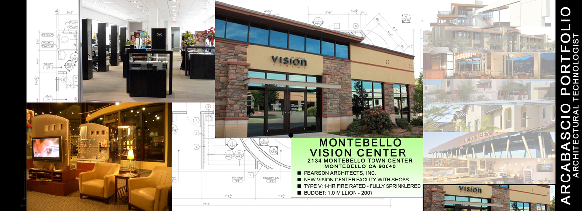 MONTEBELLO VISION CENTER - RANCHO MIRAGE, CA - 2007