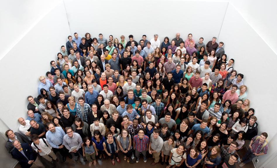 All RSA students, faculty and staff, Fall 2013.