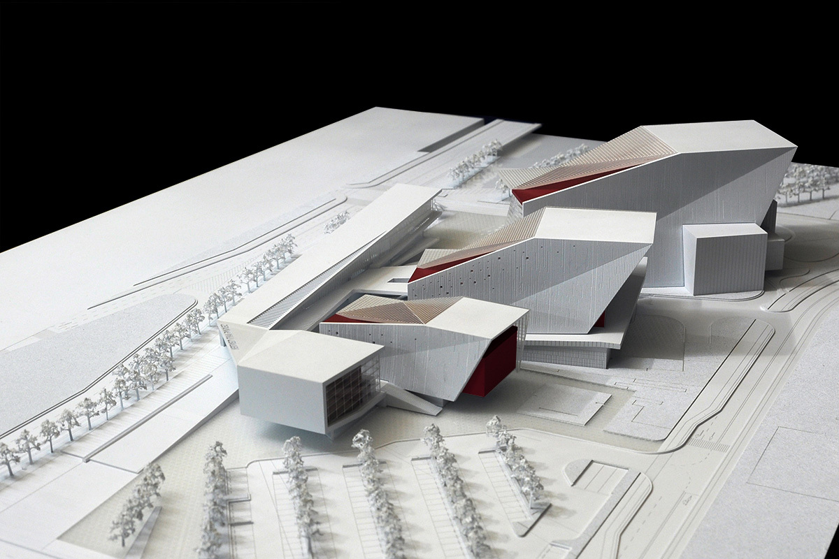 Aerial view from the park (Image: H Architecture & Haeahn Architecture)