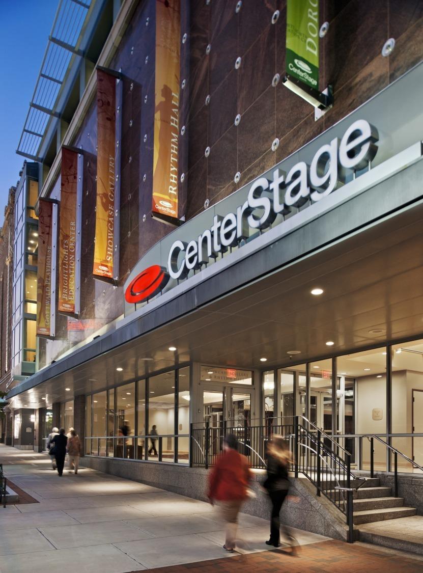 Richmond Centerstage And Carpenter Theatre Wilson Butler Architects Archinect