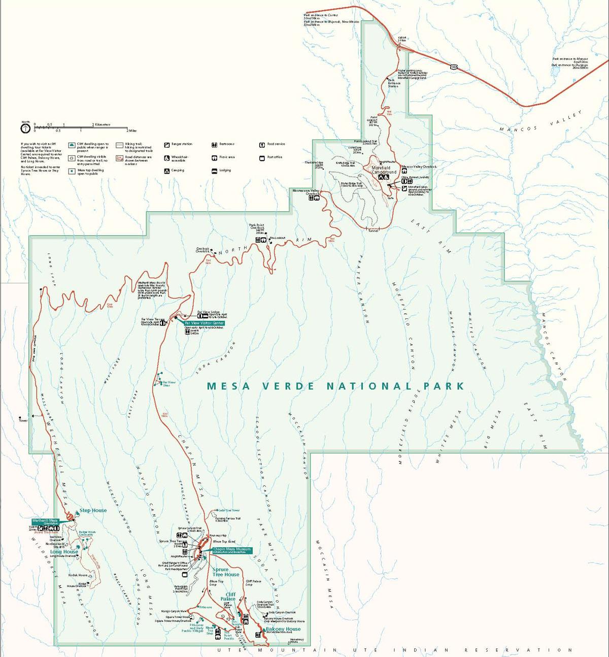 Mesa Verde. Courtesy National Park Service